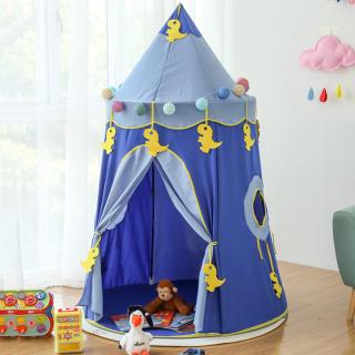 Lều Cho Bé Vui Chơi - Lều Công Chúa Hoàng Tử Cho Bé Mẫu Mới Có Thể Gấp Gọn Tiện Lợi-lều S4 thumbnail