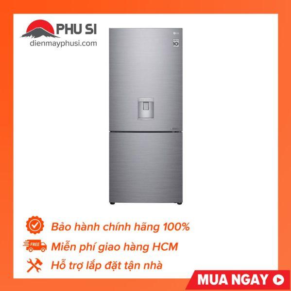 TRẢ GÓP 0% - Tủ lạnh LG 454 Lít Inverter GR-D405PS - Ngăn đá dưới, Công nghệ làm mát LINEARCooling, Ngăn cân bằng ẩm FRESHBalancer™