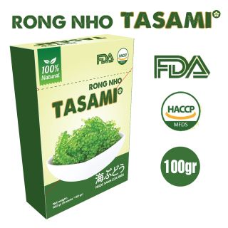 [TẶNG Sốt Mè Rang] Rong Nho tách nước TASAMI gói 35g Mẹ Bầu dùng được Đạt chuẩn FDA và HACCP 6