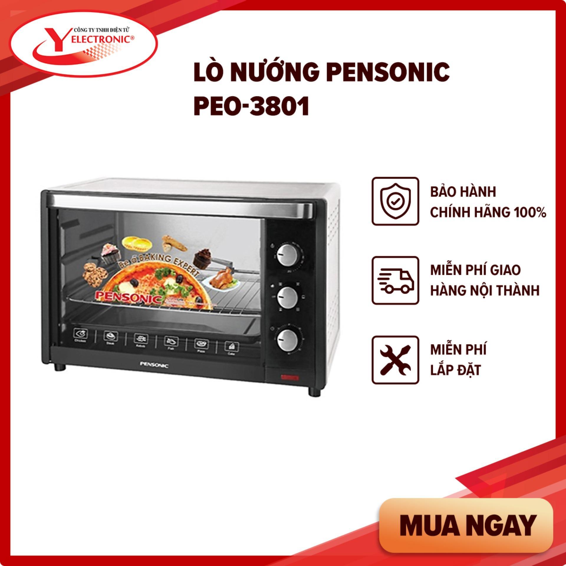 Lò Nướng Pensonic PEO-3801
