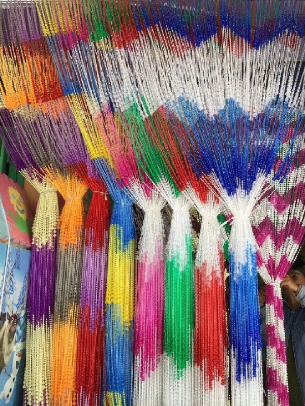 Rèm / Màn Hạt  Nhựa Đài Loan Cao Cấp : 1m & 1m2 x 2m - Shop Giao Màu ngẫu Nhiên