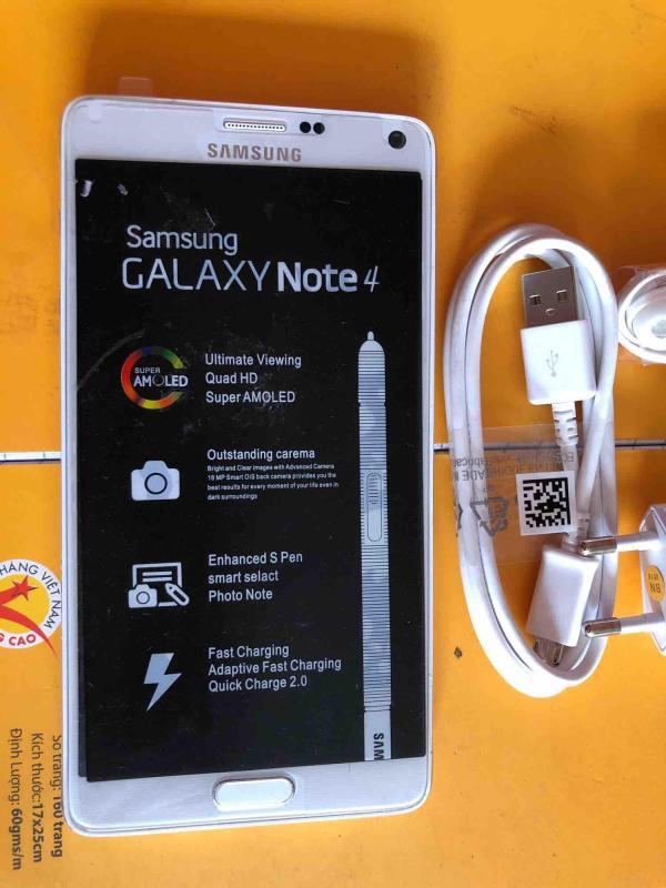 Samsung Galaxy Note 4 ( White) Nguyên zin - Fullpk