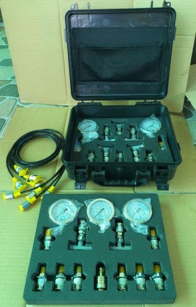 bộ kít đo áp suất thủy lực máy