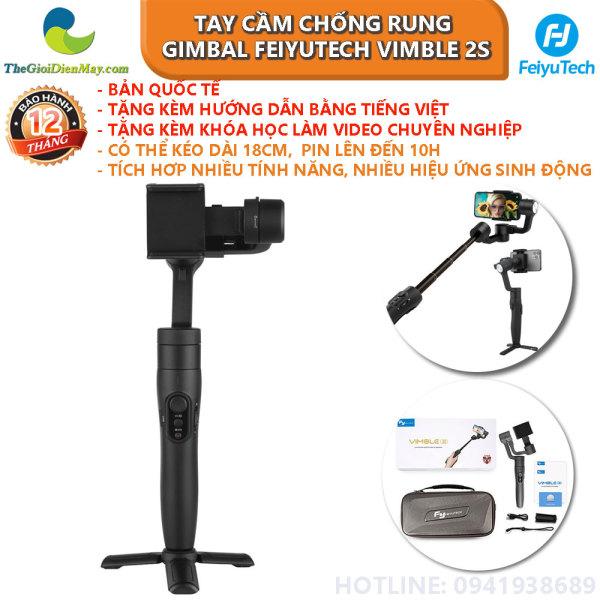 Giá Tay cầm chống rung cho điện thoại FeiyuTech Vimble 2S tặng khóa học làm video chuyên nghiệp  - Bảo hành 12 tháng - Shop Thế giới điện máy