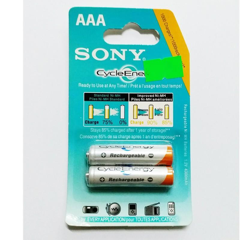 Offer Khuyến Mãi Pin Sony Sạc được 3A (1 Cặp 2 Viên)