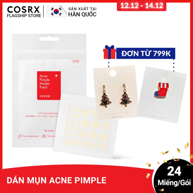 Dán Mụn COSRX Acne Pimple Master Patch 24 miếng/ gói giá rẻ