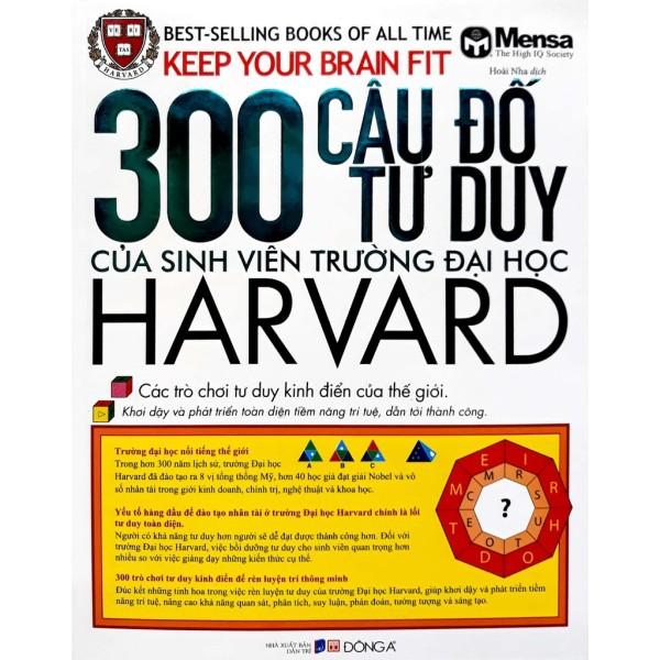 Mua Sách - 300 Câu Đố Tư Duy Của Sinh Viên Trường Đại Học Harvard