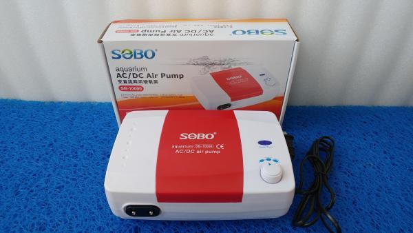 Máy sủi khí tích điện SOBO SB10000 thế hệ 2, tặng combo phụ kiện.
