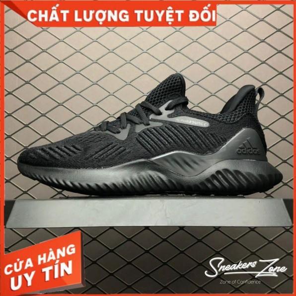 (FREESHIP+HỘP+QUÀ) Giày Thể Thao Sneakers ALPHABOUNCE Beyond 2018 Full đen Cực đẹp Và Phong Cách Cho Cả Nam Và Nữ giá rẻ