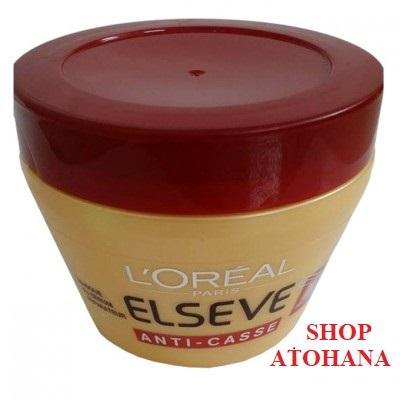 Kem ủ dành cho tóc hư tổn LOREAL ELSEVE Anti Casse 300ml