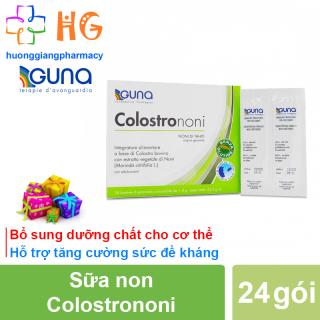 Sữa Non Colostrononi - Bổ sung dưỡng chất cho cơ thể. Hỗ trợ tăng cường sức đề kháng (Hộp 24 gói) thumbnail
