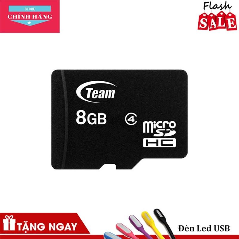 Thẻ nhớ microSDHC Team 8GB Class 4 / Class 10 - Bảo Hành 3 Năm