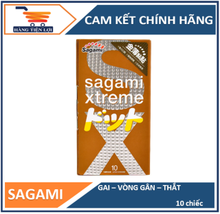 Bao cao su siêu mỏng co dãn Sagami Xtreme Feel Up 10 bao thumbnail