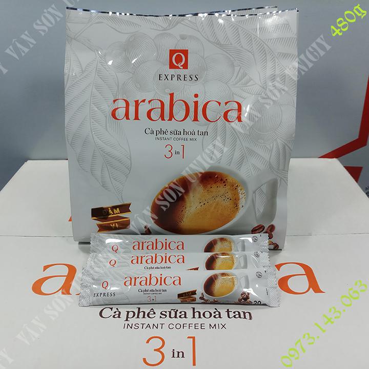Offer Khuyến Mãi Cà Phê Sữa Arabica Trần Quang 24 Gói Dài X 20g