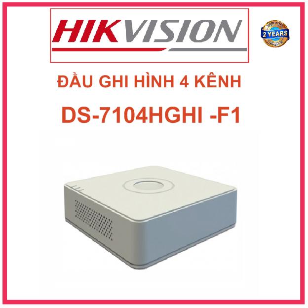 ĐẦU GHI HÌNH DS-7104HGHI -F1 TURBO 3.0