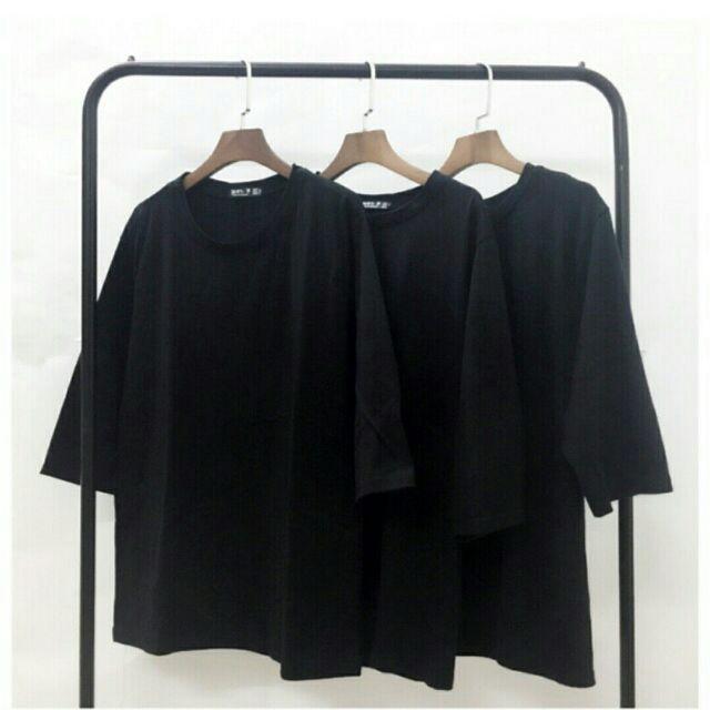 áo thun form rộng tay lỡ - áo phông rộng tay lỡ nam nữ
