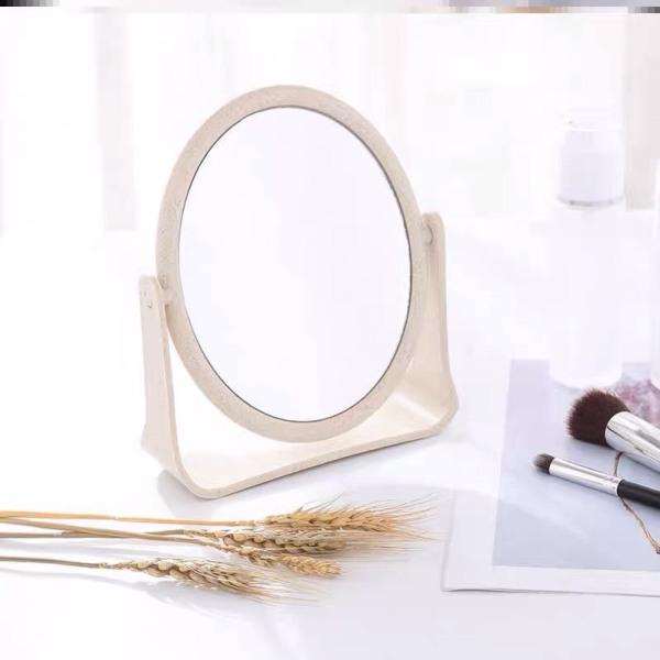 Gương để bàn trang điểm 2 mặt xoay 360 độ nhiều màu giá rẻ