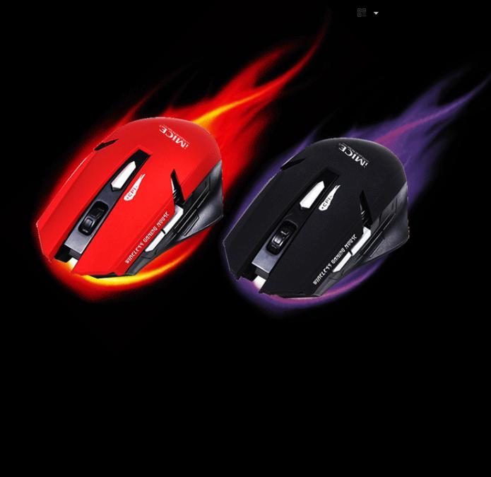 Chuột không dây, chuột máy tính Imice cao cấp - Chuột không dây cho máy tính - chơi game siêu nhanh - Bảo Hành 1 Đổi 1 Trong 6 Tháng