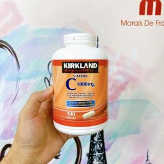 [HCM]viên uống bổ sung vitamin c tăng cường hệ miễn dịch kirkland 1000mg 500 viên thumbnail