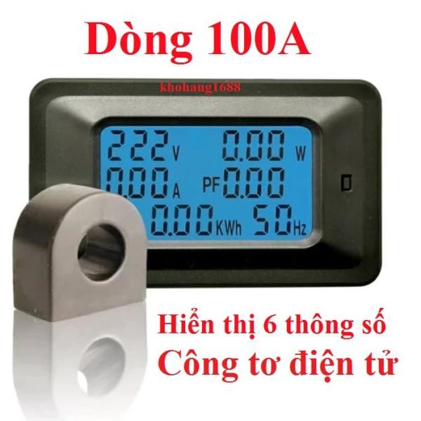 Bảng giá Đồng hồ đo công suất điện 100A Phong Vũ