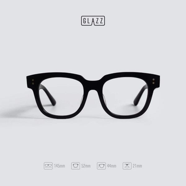 Giá bán Kính giả cận nam nữ mắt vuông phong cách Hàn Quốc, kính mát thời trang bảo vệ mắt chống tia UV mắt kính không độ có thể thay được tròng cận 017