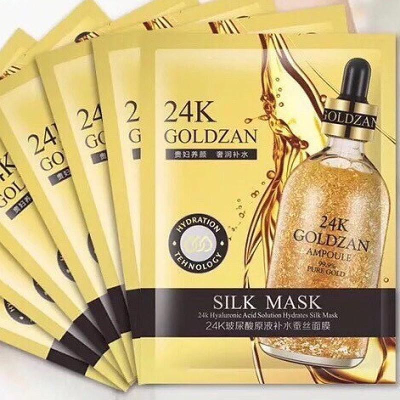 Mặt nạ lụa 24k Goldzan Hàn Quốc giá rẻ