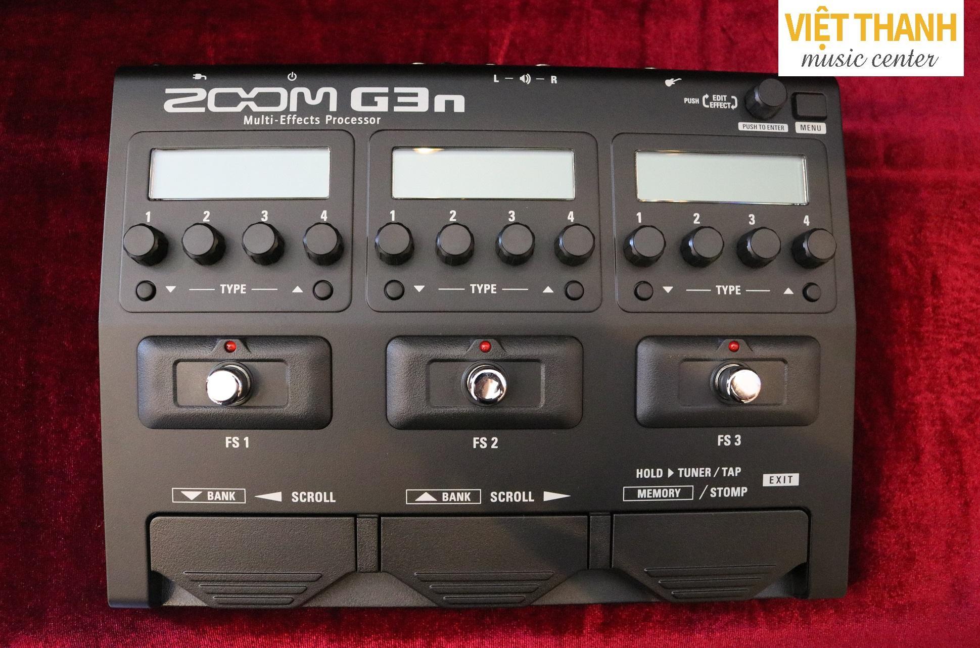 Phơ Guitar Điện Zoom G3n