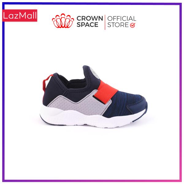 Giày Thể Thao Bé Trai Bé Gái Đi Học Crown Space UK Giày Snearker đi học cho bé từ 2 đến 14 tuổi size 28 đến 35 nhẹ êm thoáng mát mềm mại CRUK8024