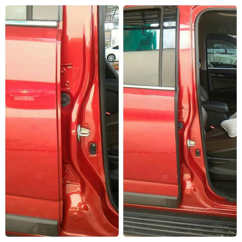 Gioăng cao su lõi thép cột B giúp xe ô tô của bạn đóng cửa êm hơn, ngăn bụi bẩn nước lọt vào khe cửa gây khó chịu sau khi rửa xe. Có video hướng dẫn lắp đặt đơn giản tự làm chưa đến 2 phút. Chuyên sỉ lẻ ron cao su chống ồn