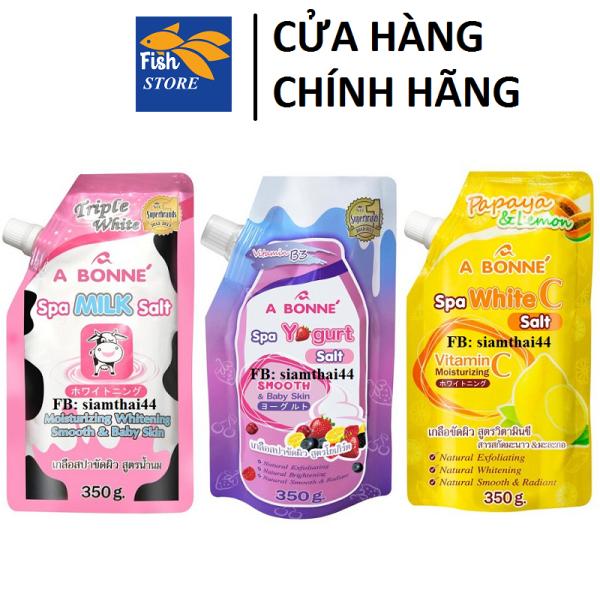 Muối tắm sữa bò tẩy da chết A Bonne Spa Milk Salt 350g Thái Lan
