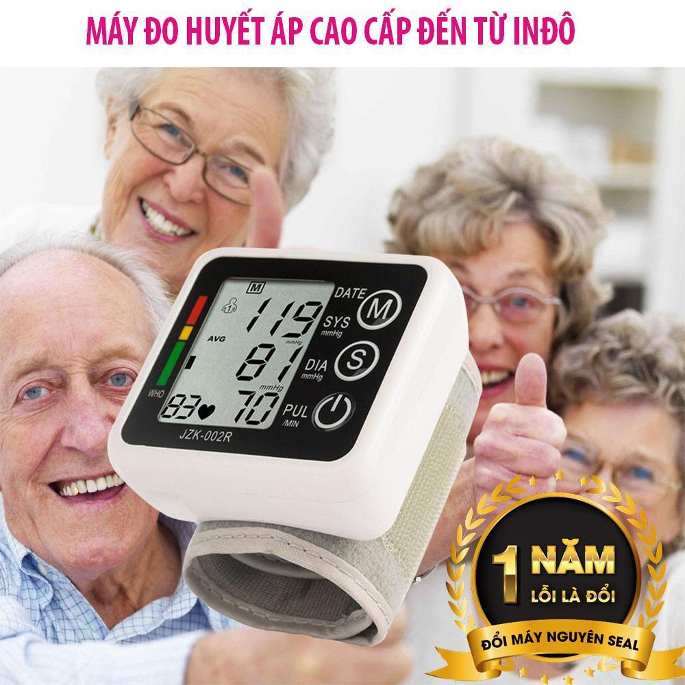 Máy đo huyết áp Nhật Bản - Máy đo huyết áp điện tử giá cực tốt - Máy Đo Huyết Áp Đo Nhịp Tim, Huyết Áp Chính Xác Tuyệt Đối Dành Cho Mọi Người nhập khẩu
