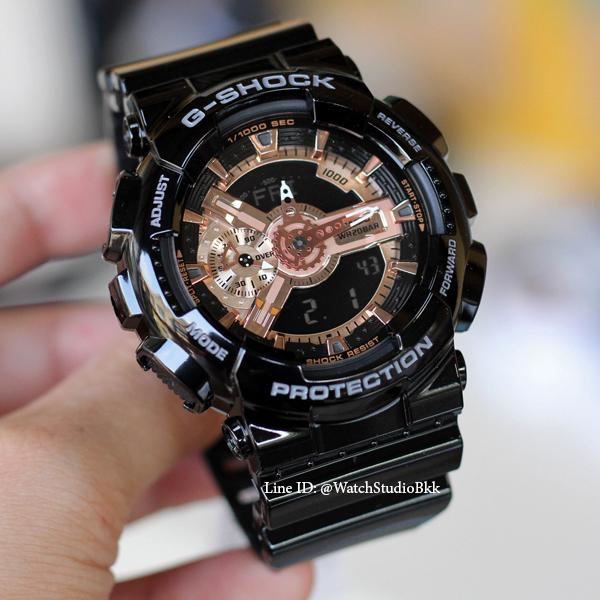 Đồng hồ G-Shock GA110 Đen nâu cafe thể thao nam nữ + Tặng kèm pin + Bảo hành 6 tháng bán chạy