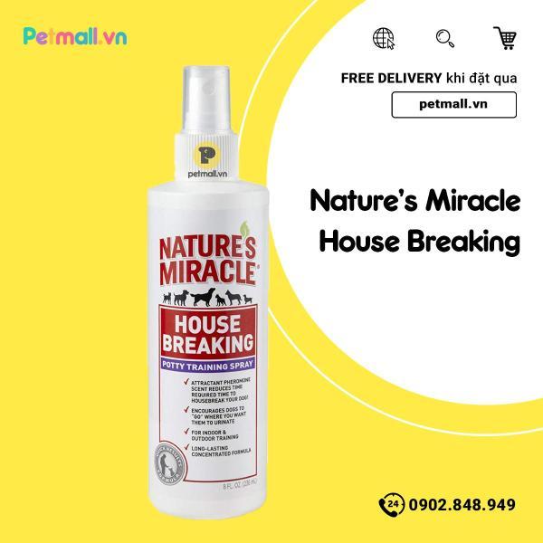 Hướng dẫn chó đi vệ sinh Natures Miracle House Breaking 236ml