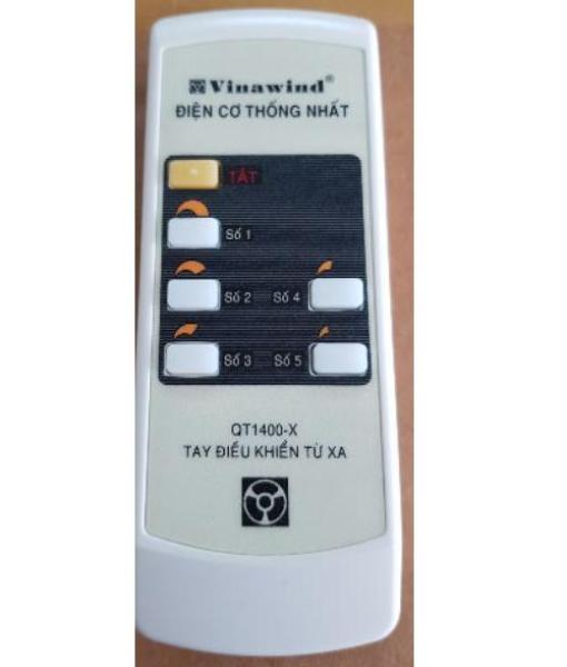 Tay điều khiển quạt trần Điện cơ thống nhất Vinawind QT1400-X