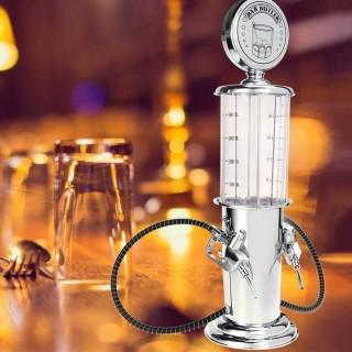 Tháp bia,rượu cao cấp chất liệu inox - Bình đựng rượu, bia Bình rót rượu tự động hình cây xăng, bình châm tửu cao cấp, bình rót rượu thông minh mini- Tặng xí ngầu uống bia,uống rượu - Cao Cấp.PVL Store 5.0 thumbnail