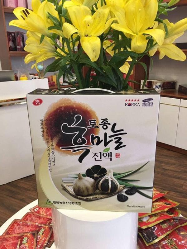 Nước tỏi đen Hàn Quốc cao cấp