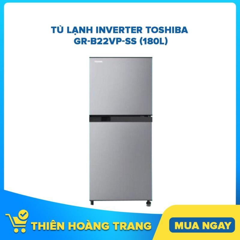 Tủ Lạnh Inverter Toshiba GR-B22VP-SS (180L)