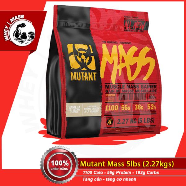 Sữa Tăng Cân Nhanh MUTANT MASS 5 LBS (2.6 kg)