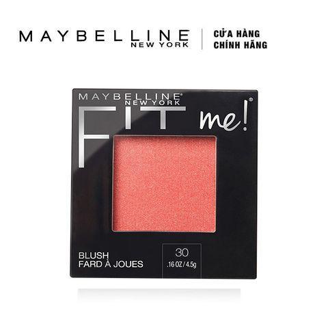 Phấn Má Hồng Mịn Lì Chuẩn Màu Maybelline Fit Me Blush - Màu 30 Rose 4,5g tốt nhất