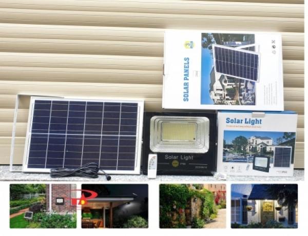 Bảng giá ĐÈN ĐƯỜNG NĂNG LƯỢNG MẶT TRỜI 200W Đèn pha năng lượng mặt trời công suất lớn (200W)Đèn năng lượng mặt trời 200w JD-8200L chính hãng Solar LightĐèn Led chiếu sáng năng lượng mặt trời 200WĐèn Pha Năng Lượng Mặt Trời - Độ B�