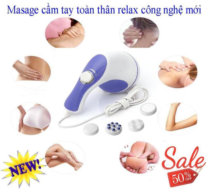 Máy massage - máy massge cầm tay - Máy Đấm Lưng Chống Đau Nhức -  Máy massage toàn thân Relax & Tone,  giảm căng thẳng, mệt mỏi, đau nhức, xả trest hiệu quả. SALE 50% Toàn Quốc