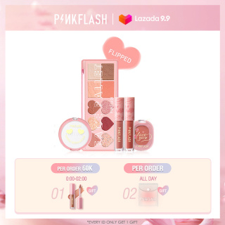 PINKFLASH OhMyLove True Love Special Edition Makeup Beauty Set High Pigment Soft Smooth First Love & Flipped & Destiny Makeup Set thumbnail