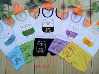 Set 5 bộ Ba lỗ bé trai và gái Mã BL06 MẸ KEM 888 thumbnail
