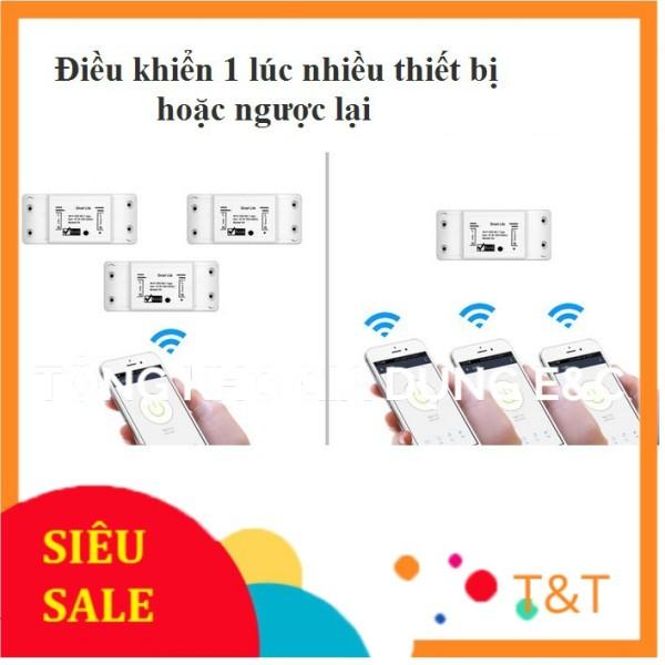Bộ công tắc điều khiển từ xa bằng wifi 3G/4G 40A (4500W) 1 công tắc smart life và 1 khởi động từ CHINT 40A
