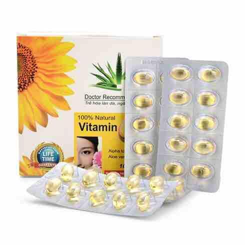 Vitamin E 400 + Nha đam