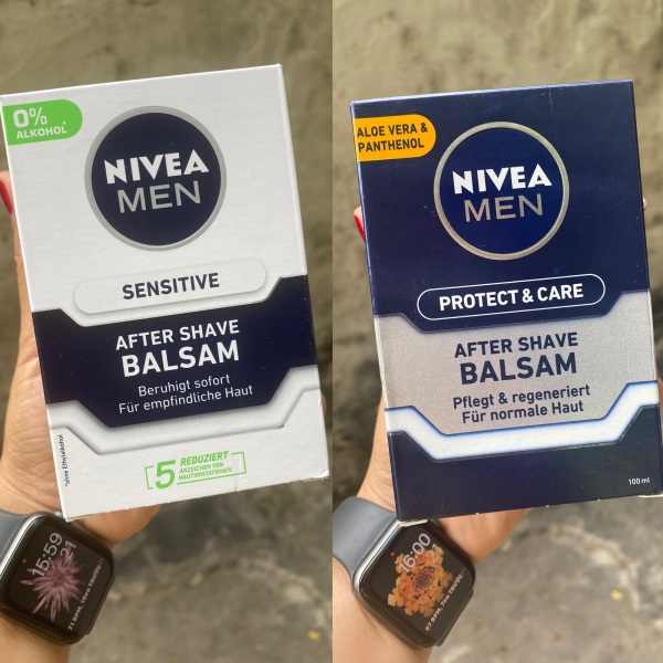 Kem Nivea Men After Shave Balsam Protect & Care dưỡng da & chống kích ứng da sau khi cạo râu, 100 ml. Made in Germany