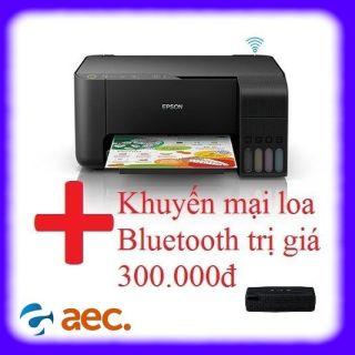 Máy in phun màu đa chức năng Epson L3150 ( thay thế Epson L405 L365 L385 L405 L360 L310 ) ( Scan,Photo,Wifi) đã bao gồm 4 bình mực ngoài Hàn Quốc đi kèm + khuyến mại loa Bluetooth trị giá 300k thumbnail