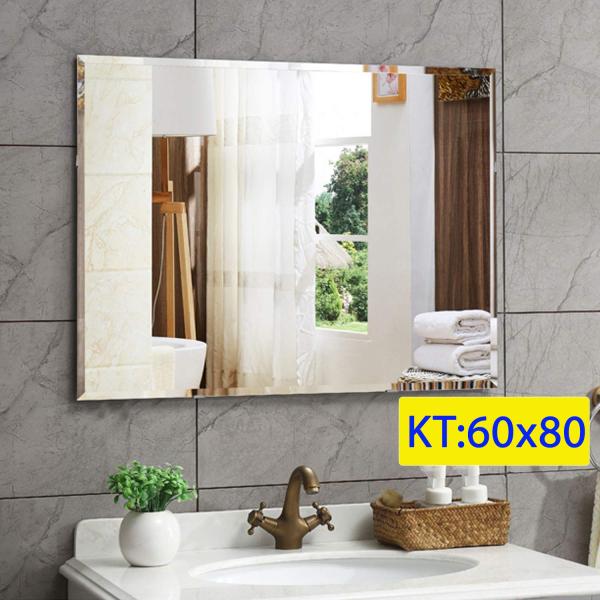 Gương soi nhà tắm ,Gương phòng tắm đẹp kích thước 60x80 - guonghoangkim mirror