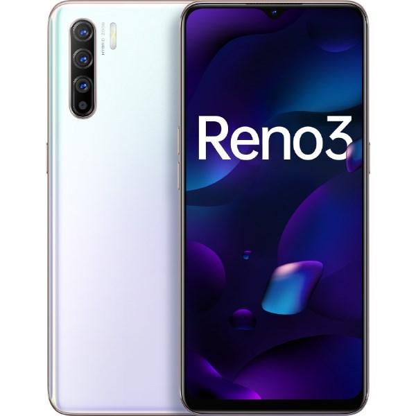 Điện thoại OPPO Reno 3 (8GB/128GB) và BỘ QUÀ  ỐP LƯNG - Hàng chính hãng bảo hành 12 tháng