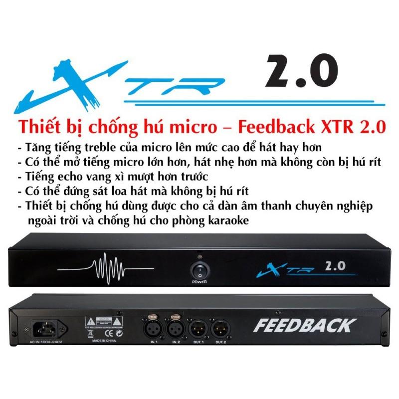 Chống Hú Micro Feedback XTR 2 0   XTR 2 0